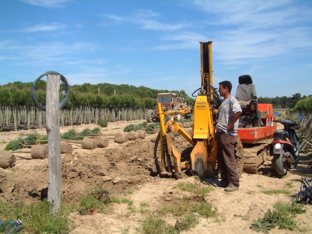 zollatrice escavatore