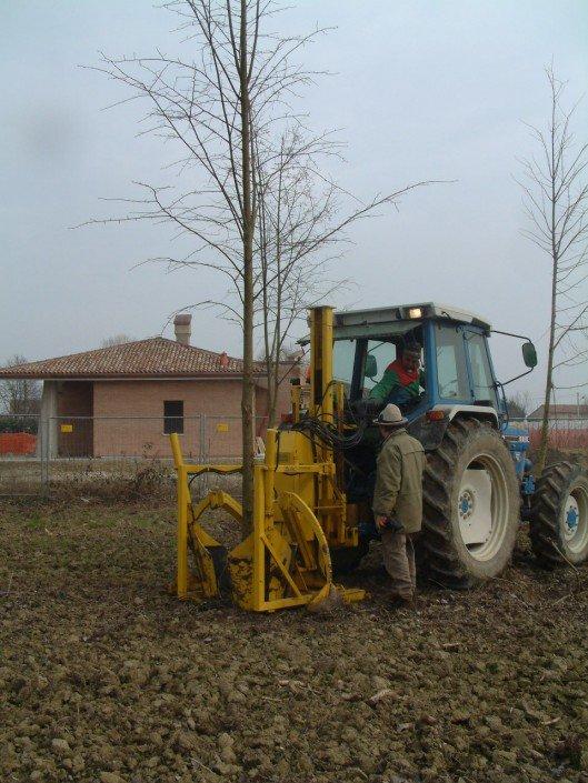 zollatrice trattore ford